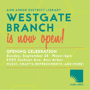 Promotional brochure for the opening of the Westgate Branch