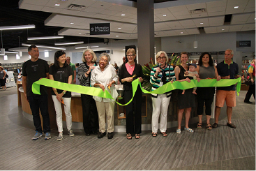 Ribbon cutting for opening the Westgate Branch