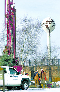 Drilling, Gelman Sciences, 2002