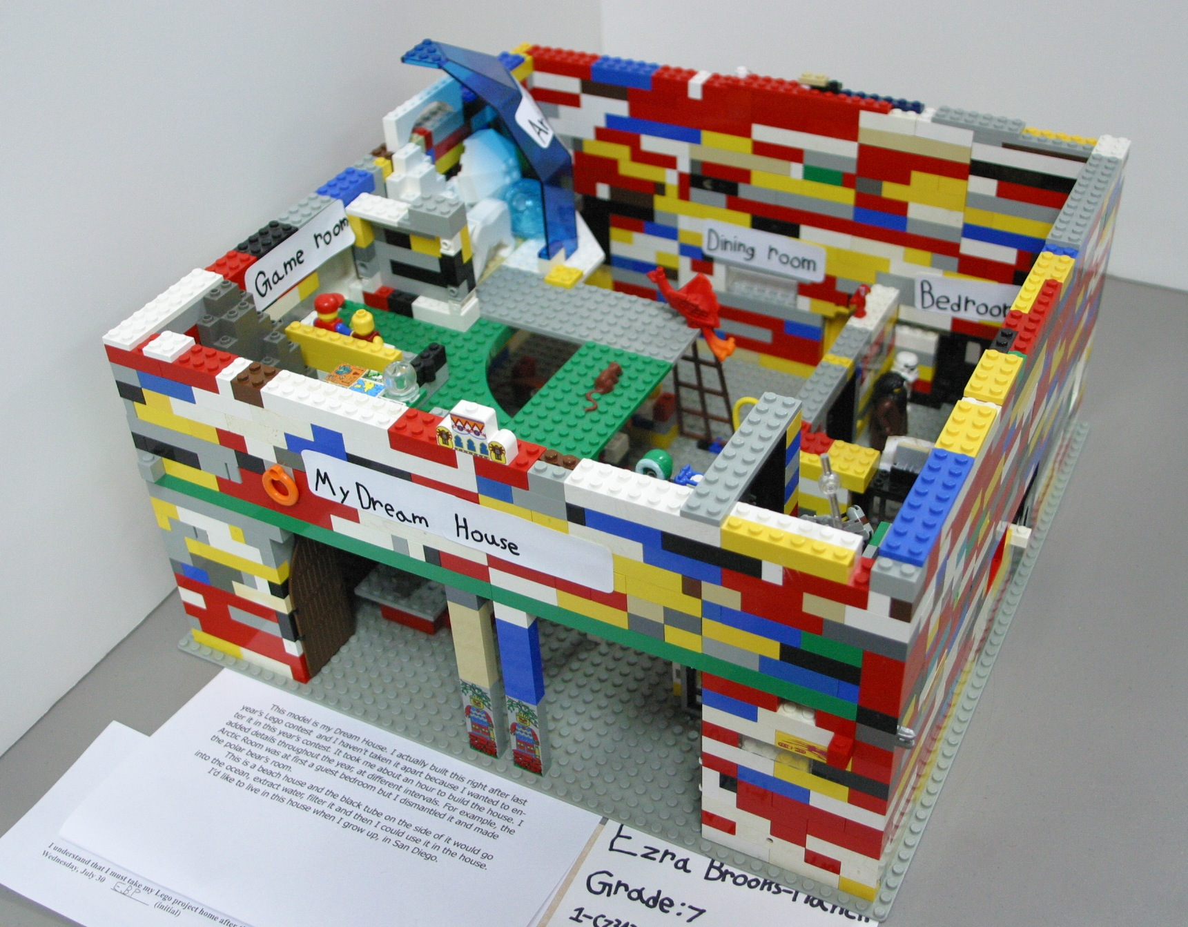 School project dream house