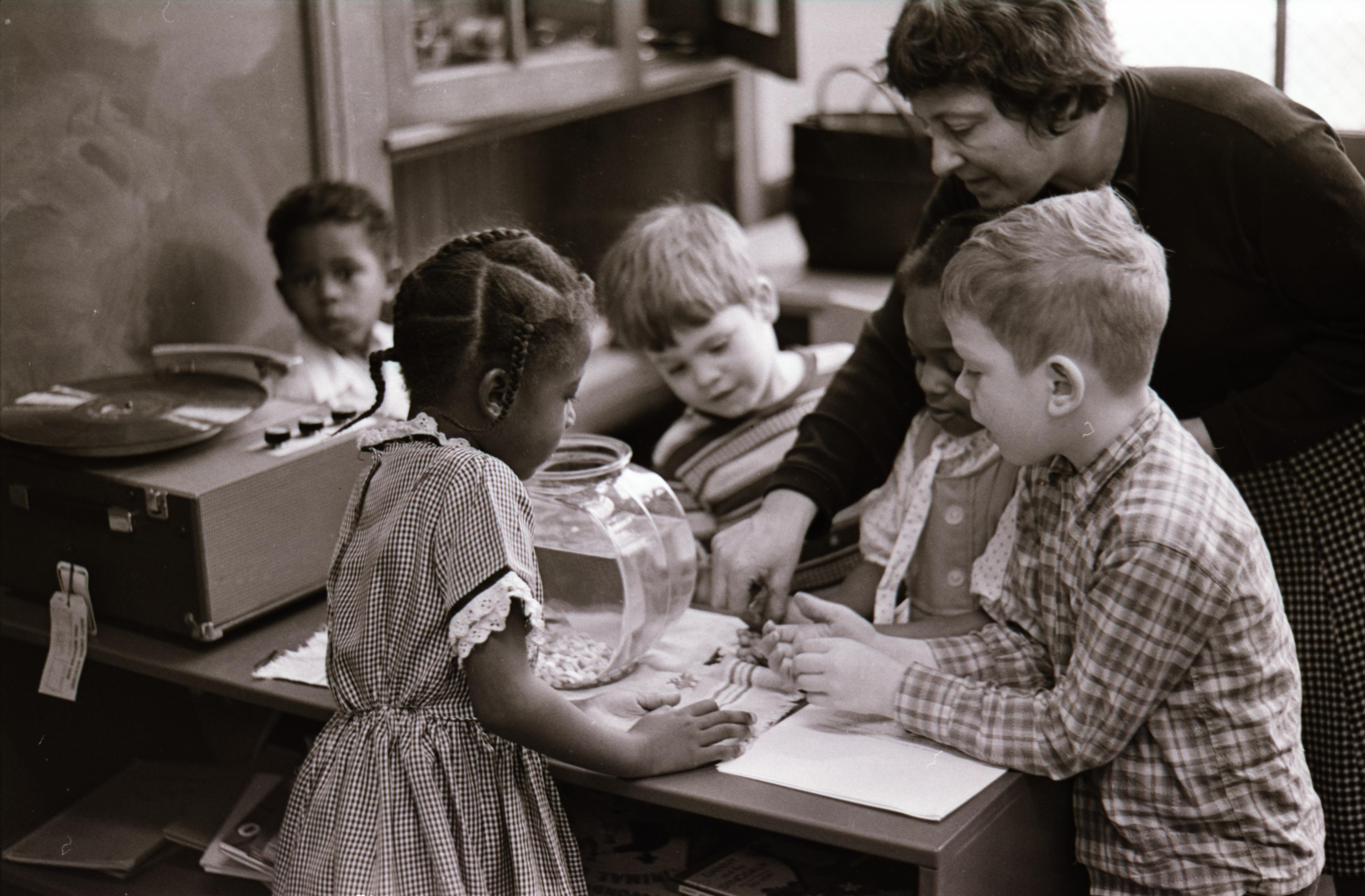 Jones Elementary School Pre Kindergarten Class With