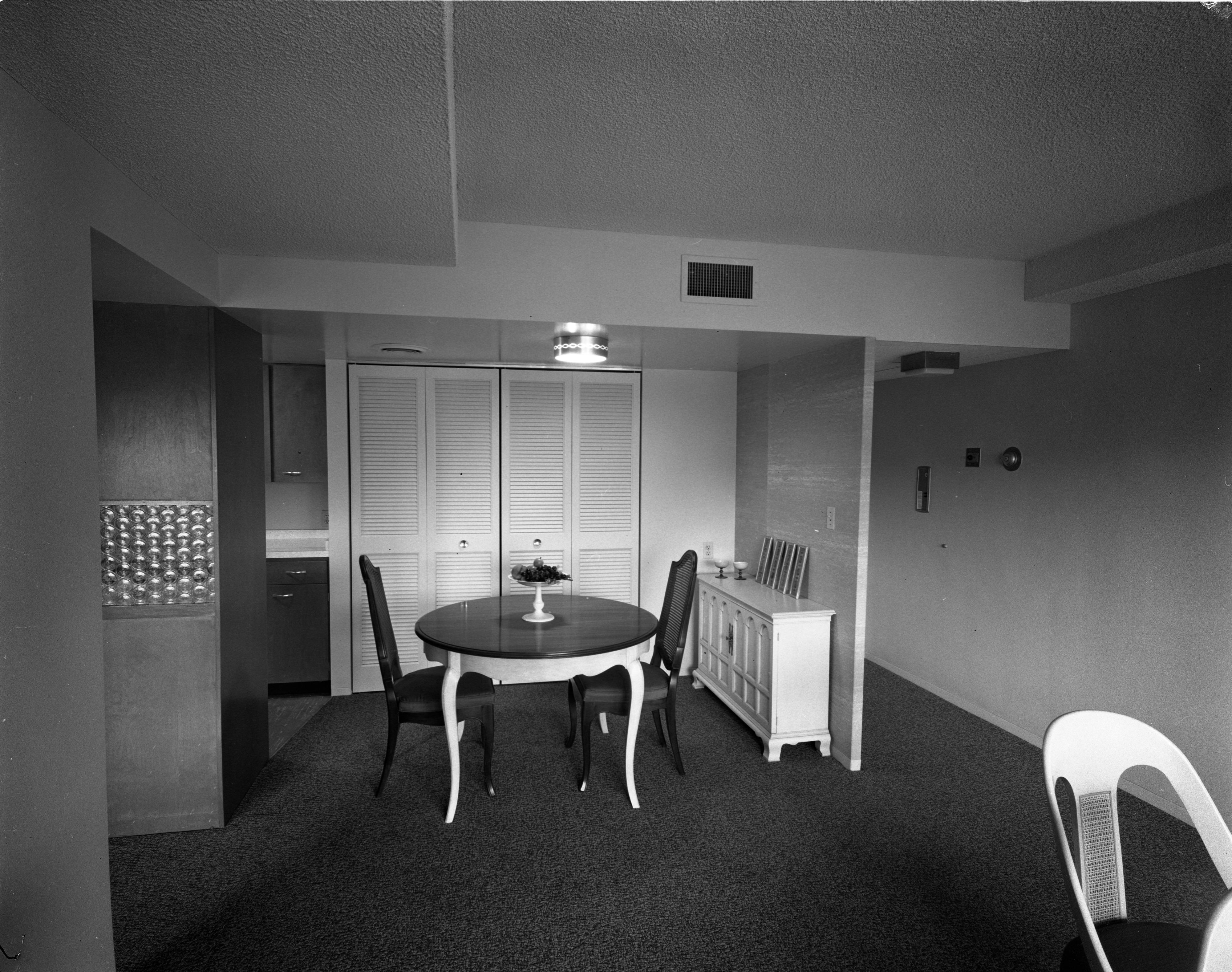 Maynard House Apartment Dining Room May 25 1962 Old News