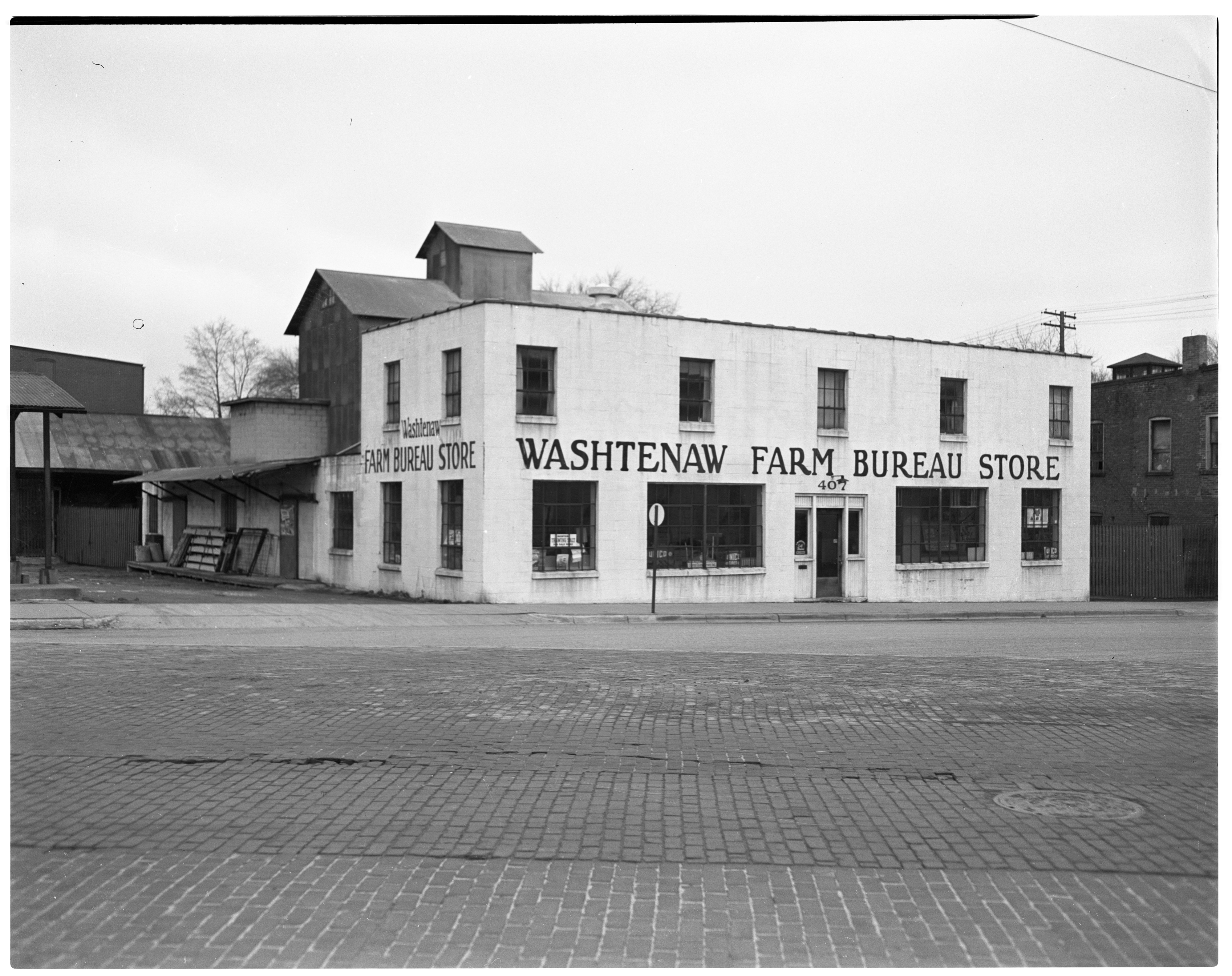 washtenaw farm bureau store 1951 old news. Black Bedroom Furniture Sets. Home Design Ideas