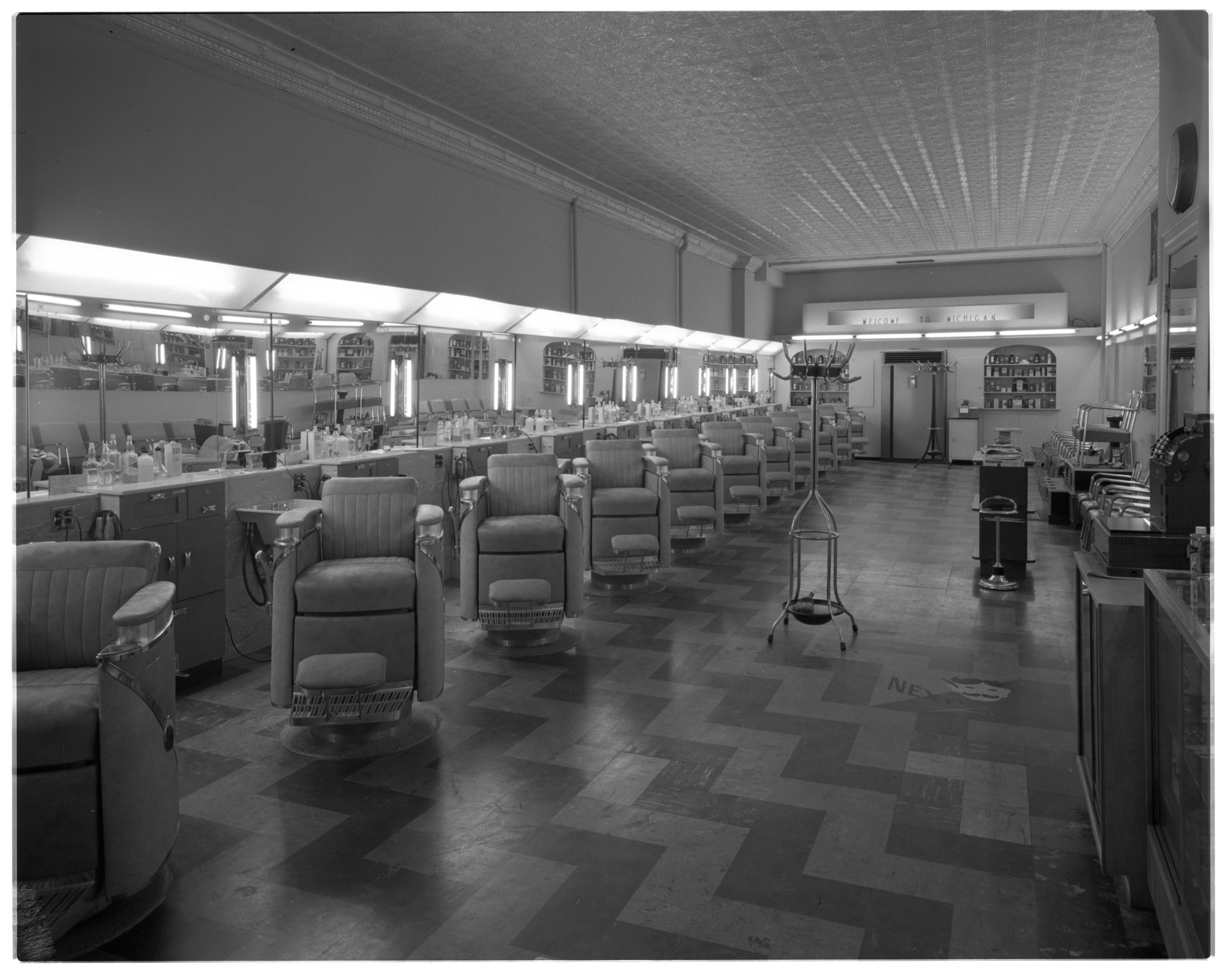 Barber Ypsilanti : Dascola Barber Shop $2,500 front remodeling program. A new glass ...