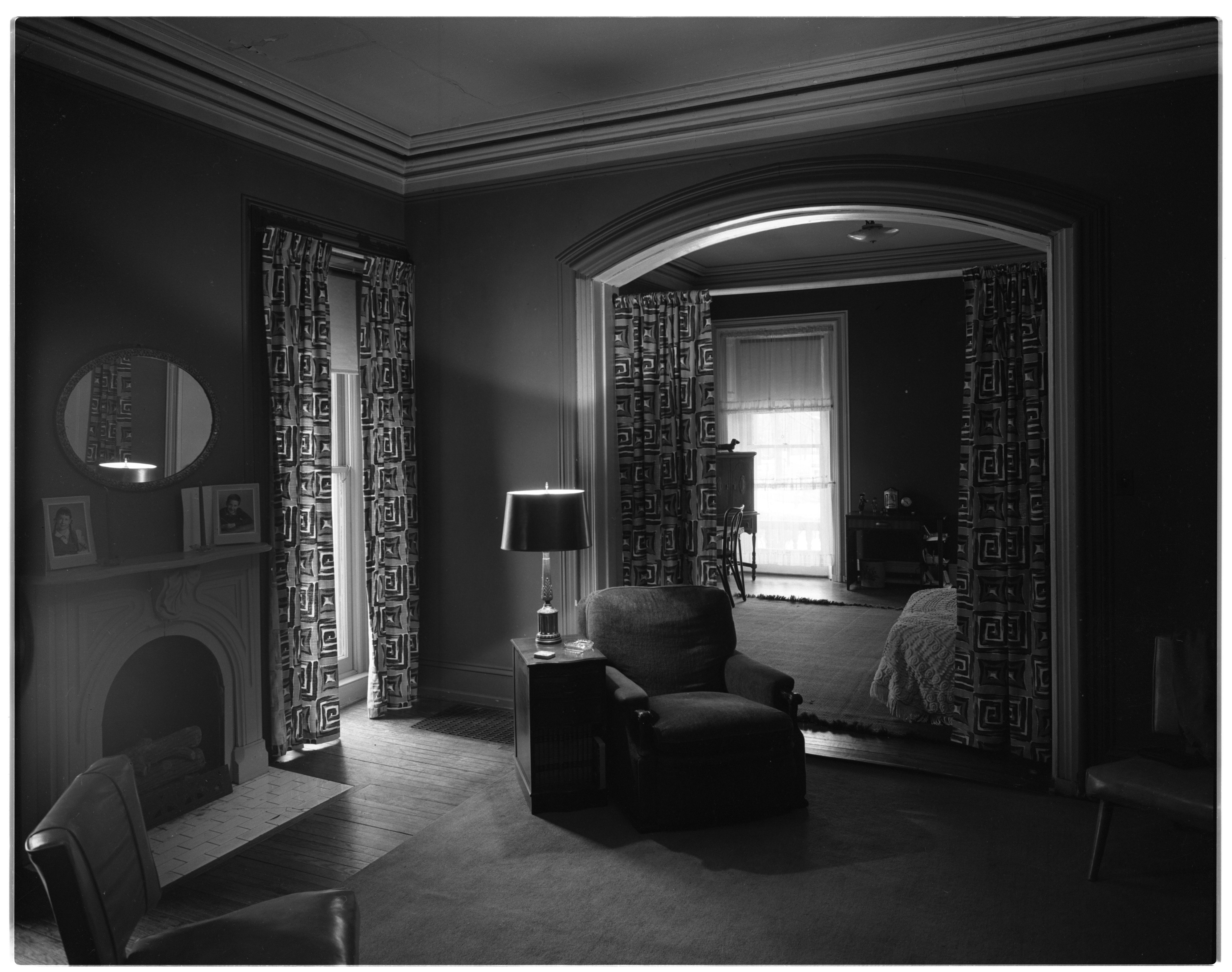 Beal Home Interior February 1956
