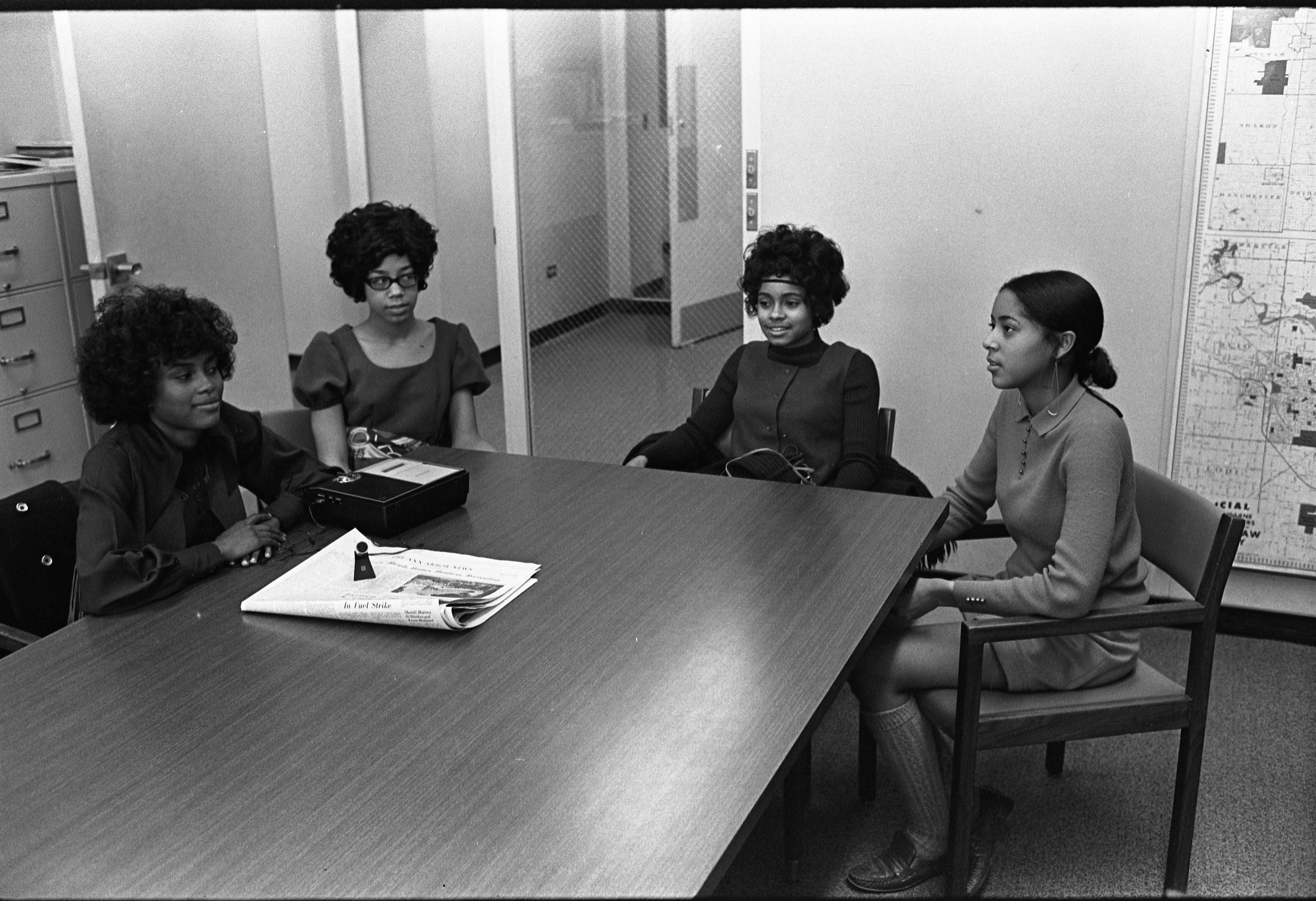 lincoln high school old news local homecoming courts discuss their experiences for an interview 1970