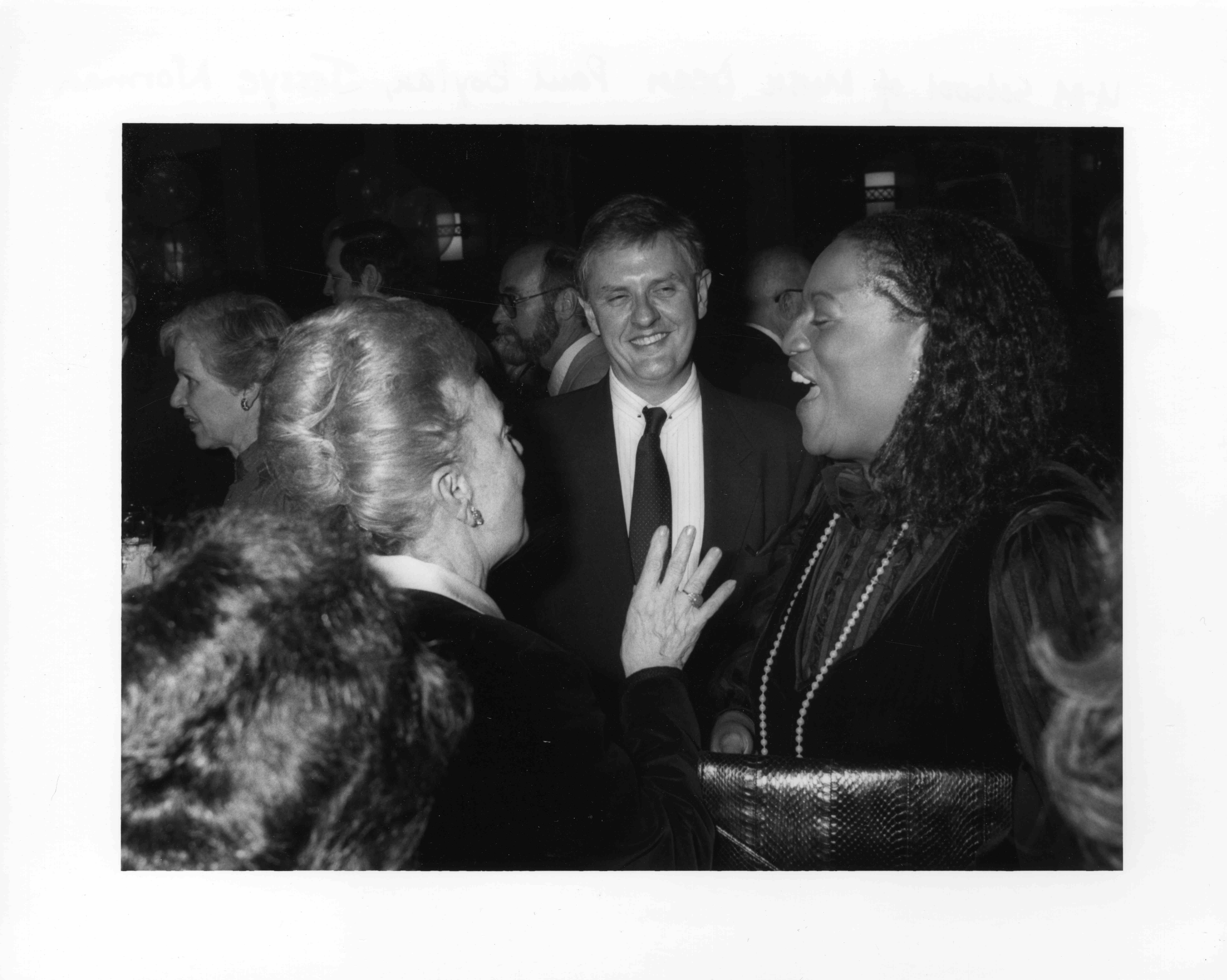 UM School of Music Dean Paul Boylan, Jessye Norman, May Festival 1989