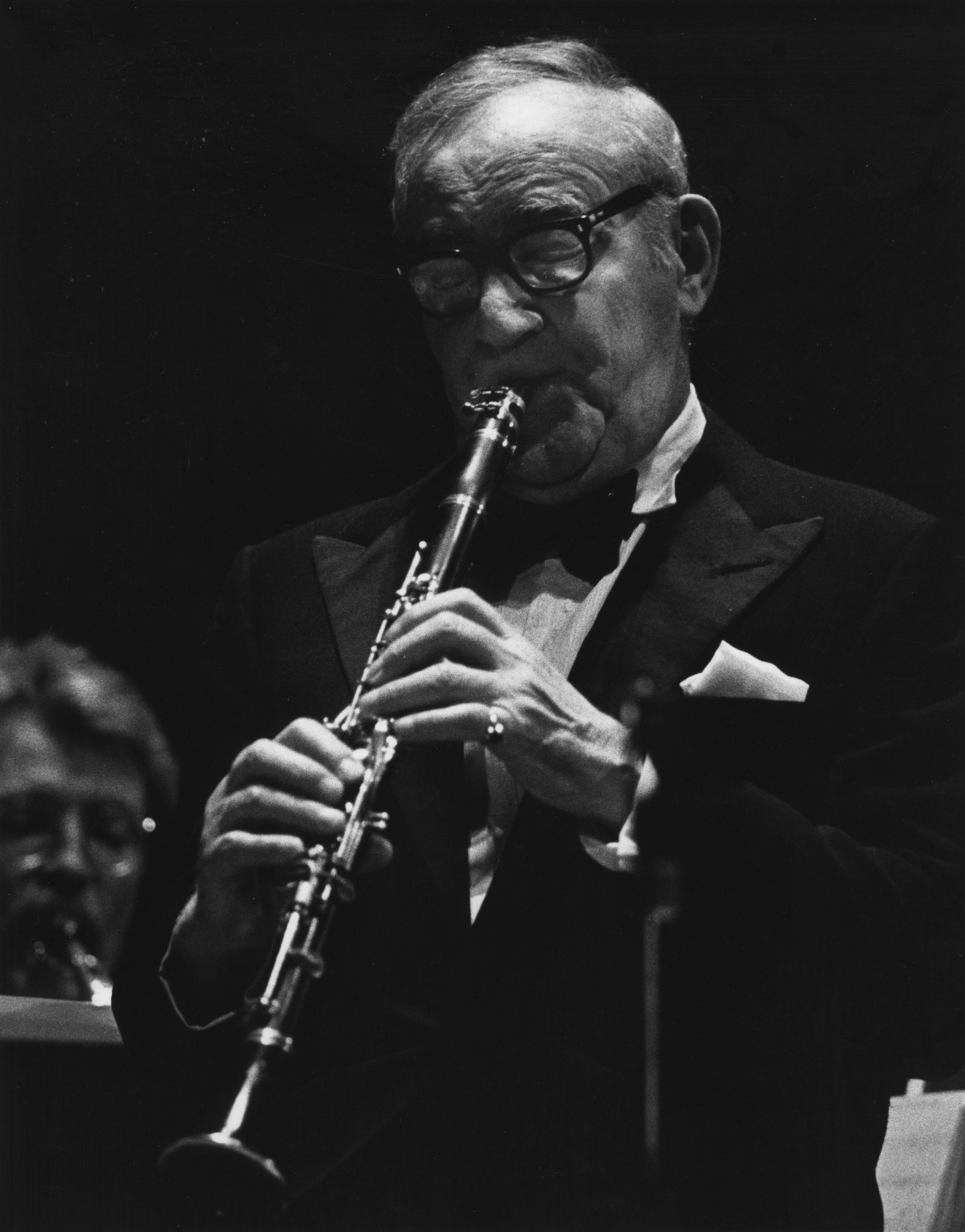 Benny Goodman at Benefit Concert