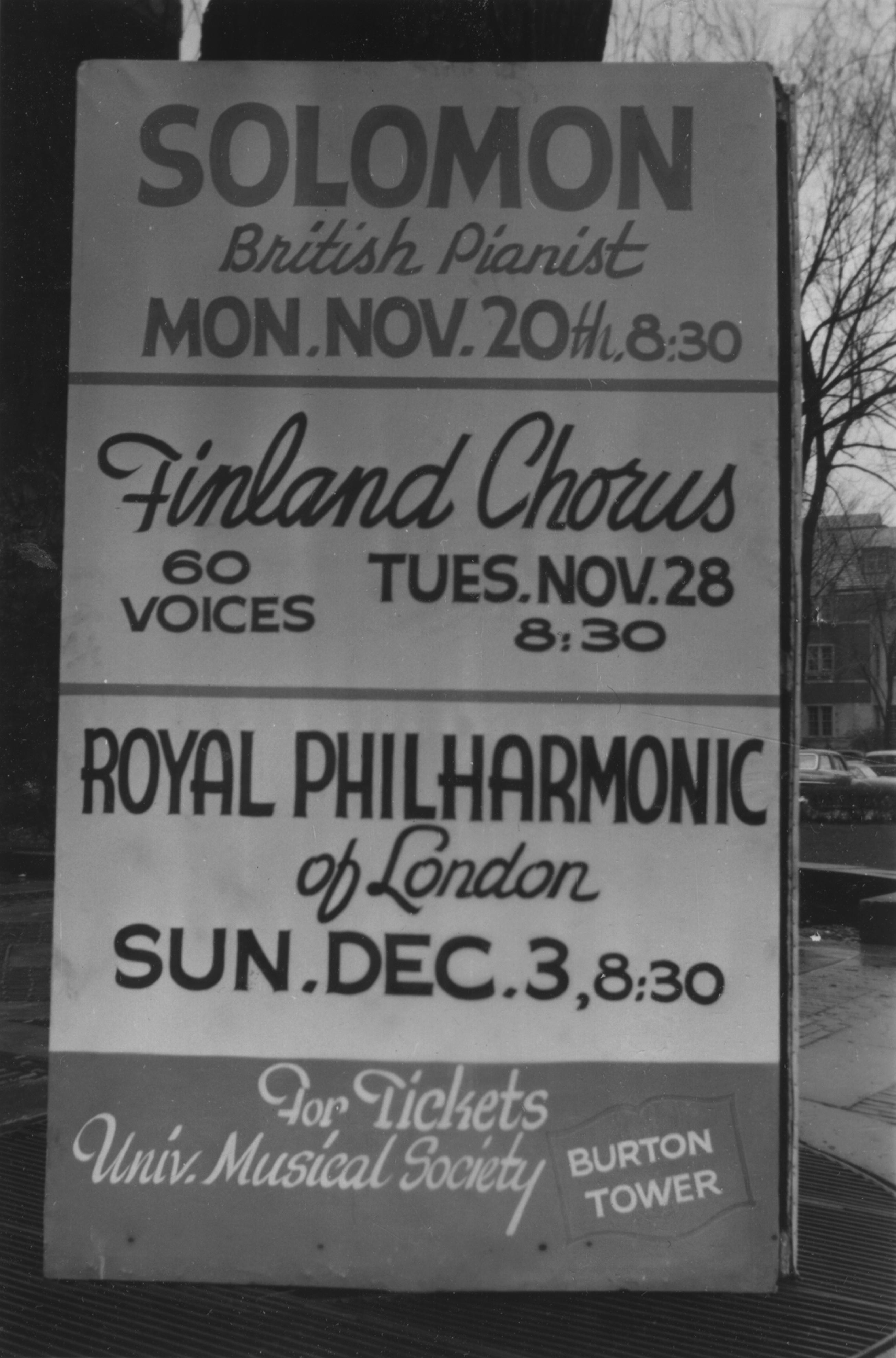 Soloman, Finland Chorus, and the Royal Philharmonic of London