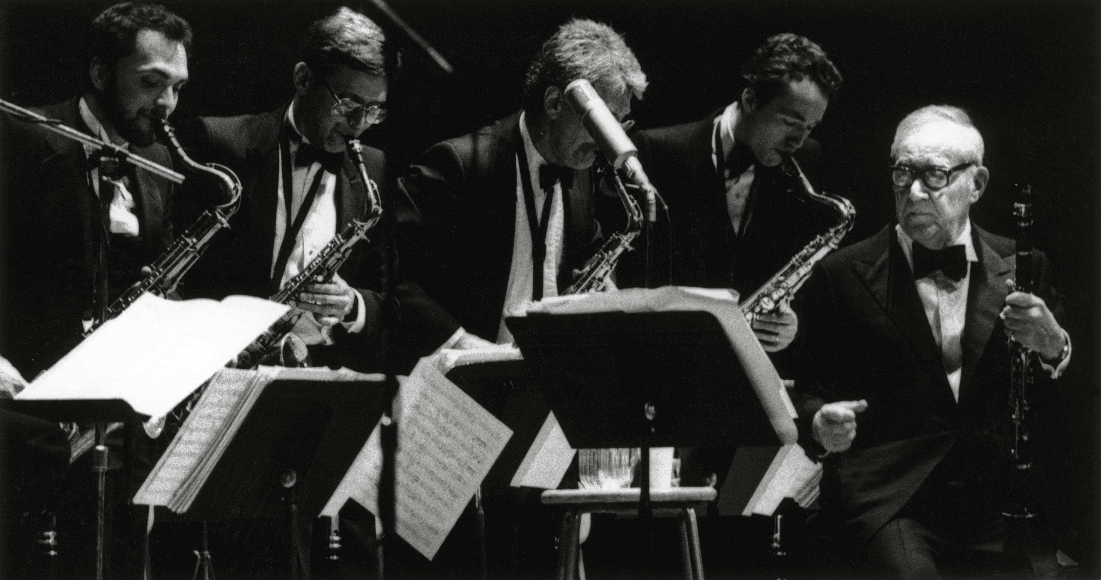Benny Goodman and his Big Band, March 22, 1986