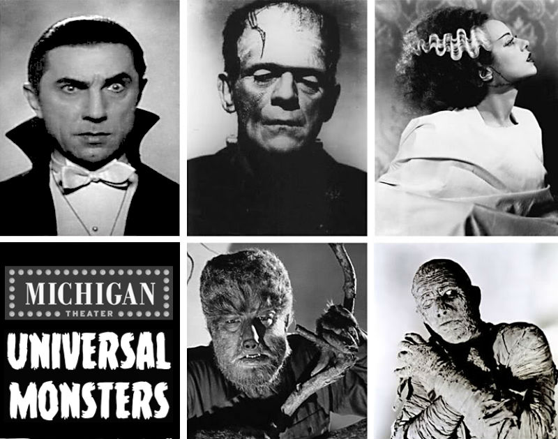 Universal Horror: Classic monster movies at the Michigan