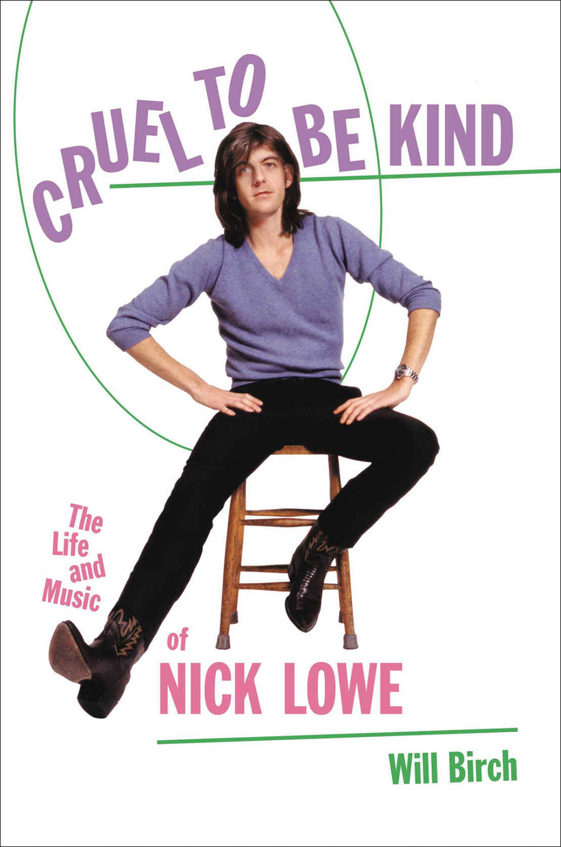 Promotional image for Martin Bandyke Under Covers for April 2020: Martin interviews Will Birch, author of Cruel to Be Kind: The Life and Music of Nick Lowe. podcast