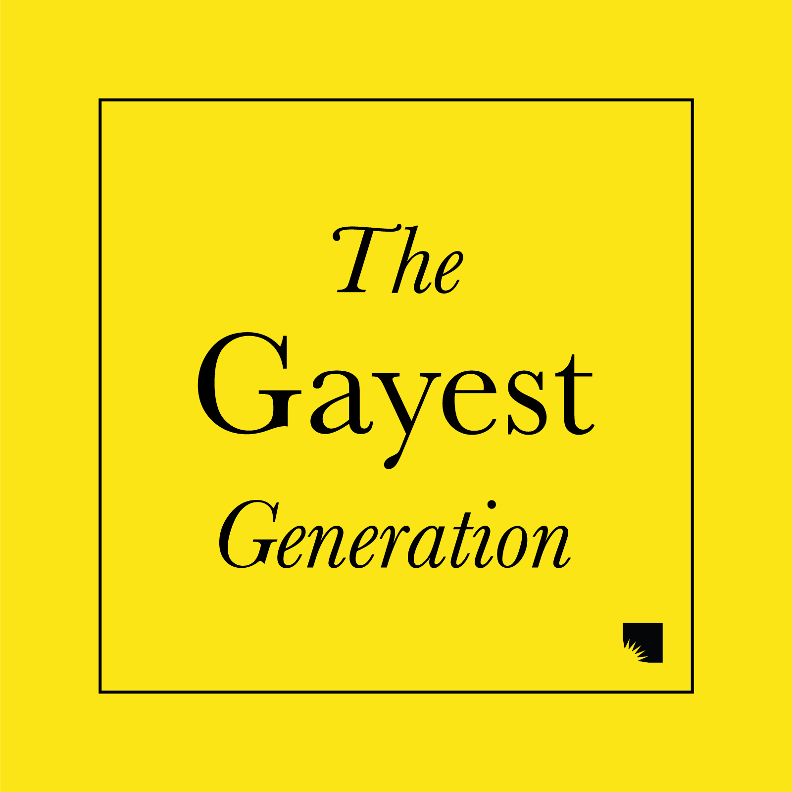 Promotional image for The Gayest Generation Ep. 1 - Pat Buerkel podcast