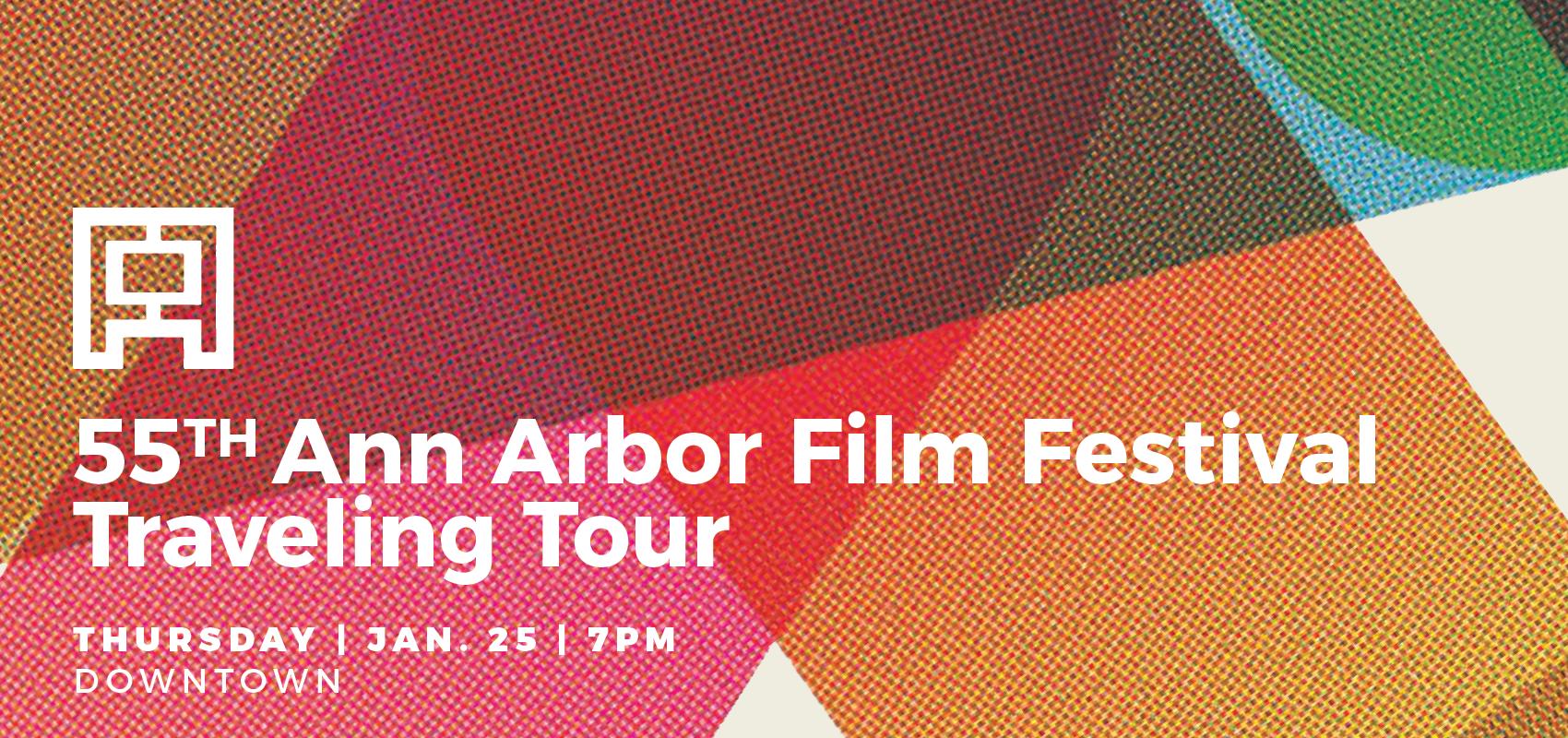 Ann Arbor Film Festival 55th Tour. Six experimental short films.