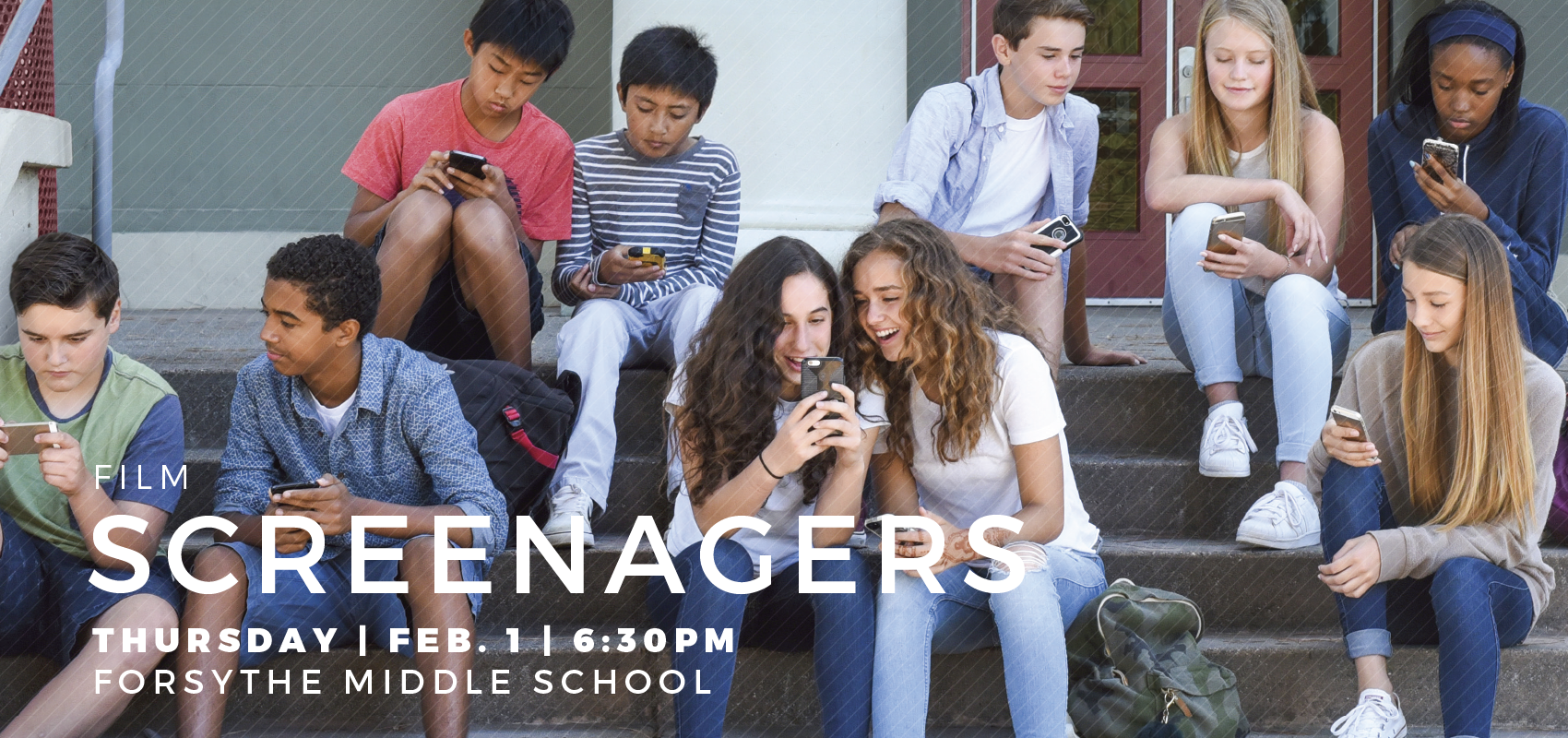 Film and Discussion: Screenagers. Film about screen addiction in children.