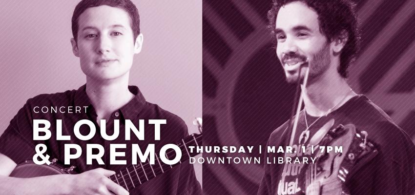 Blount and Premo - March 1. .