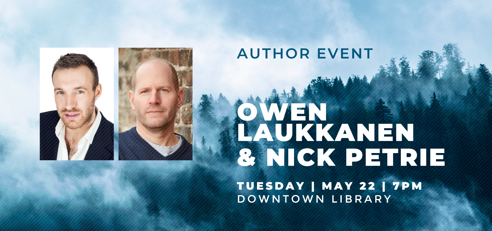 Thriller Novelists - Tuesday May 22. .
