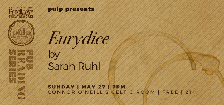 Eurydice - Sunday, May 27. .