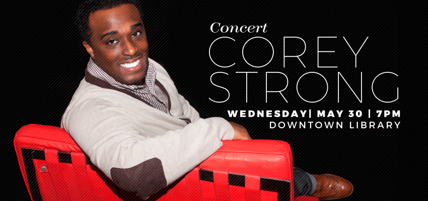 Corey Strong - Wed. May 30. .