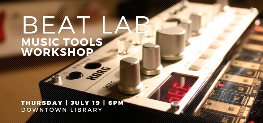 Beat Lab - Thursday July 19. .