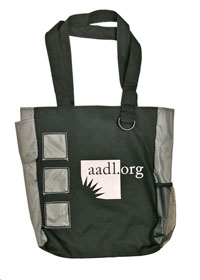 Cover image for *ALL GONE* 2011 AADL Logo Totebag