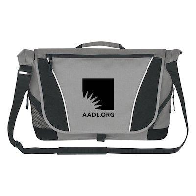 Cover image for AADL Logo Messenger Bag