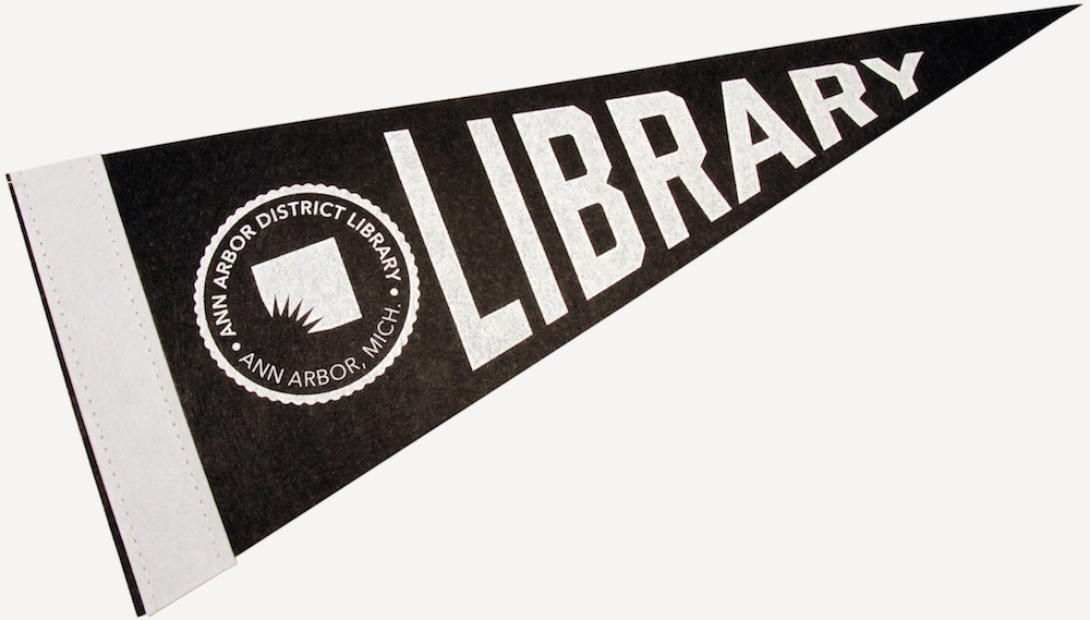 Cover image for AADL Library Pennant