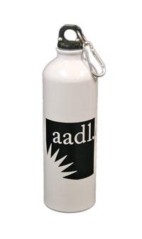 Cover image for *ALL GONE* VINTAGE 2011 AADL Logo Water Bottle