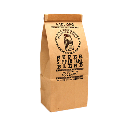 Cover image for Roos Roast Super Summer Game Coffee
