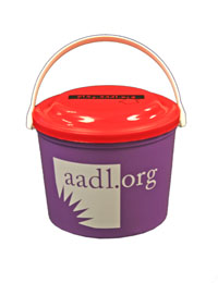 Cover image for *REDUCED* AADL 2011 Bucket with Frisbee Lid
