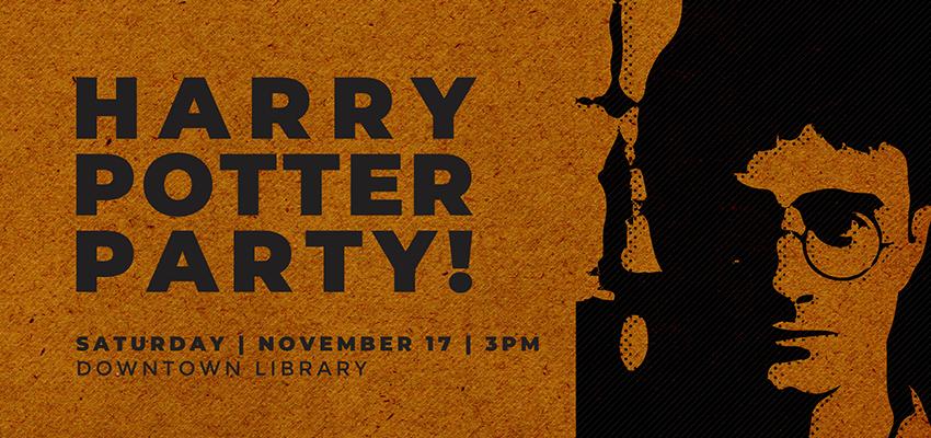 Harry Potter Party - Sat Nov. 17. .