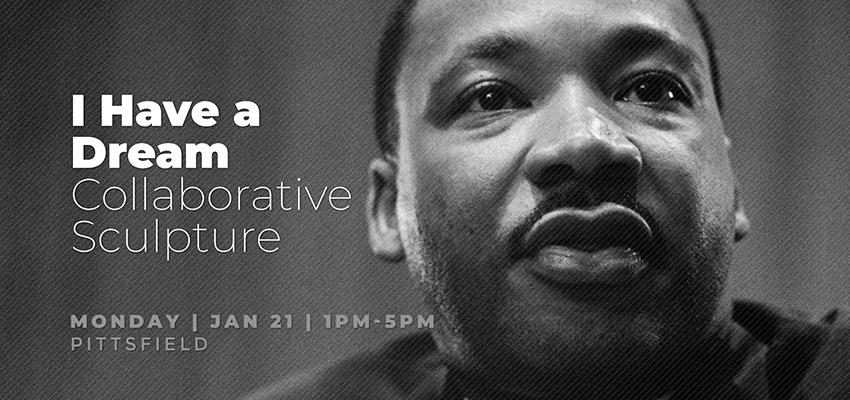 MLK Sculpture - Monday Jan. 21. .