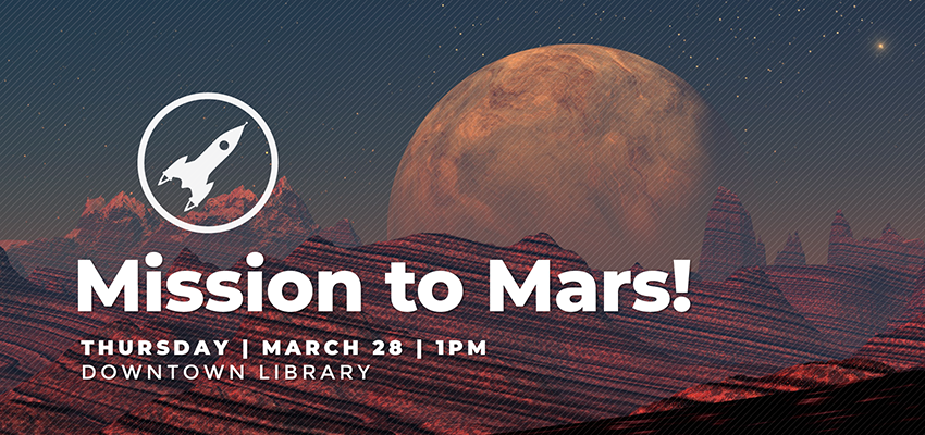Mission To Mars - Thursday March 28. .