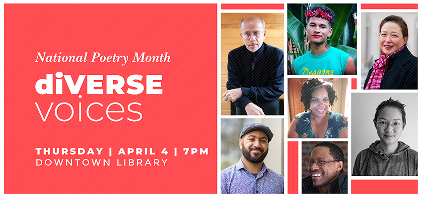 diVERSE voices - Thursday April 4. .