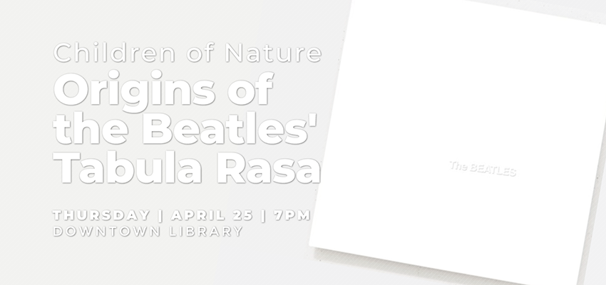 the Beatles - Thursday April 25. .