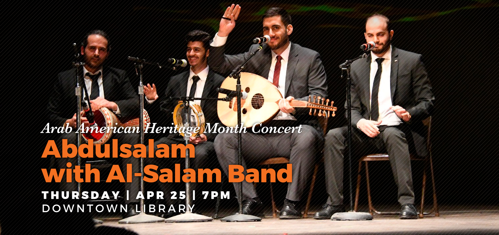 Classical Syrian Music - Thursday April 25. .