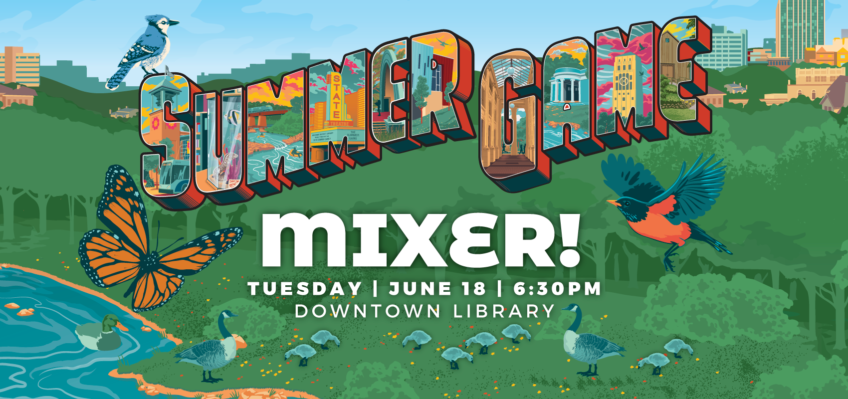 Summer Game Mixer - Tuesday June 18. .