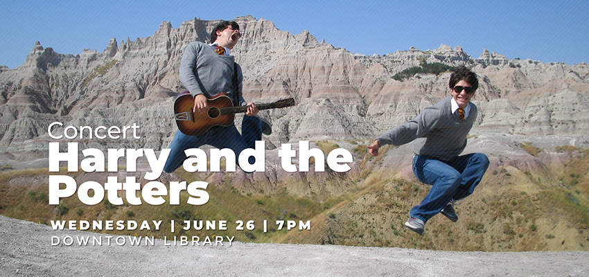 Concert | Harry and the Potters - Wednesday June 26. .