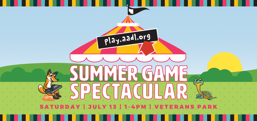 Summer Game Spectacular! - Saturday July 13. .