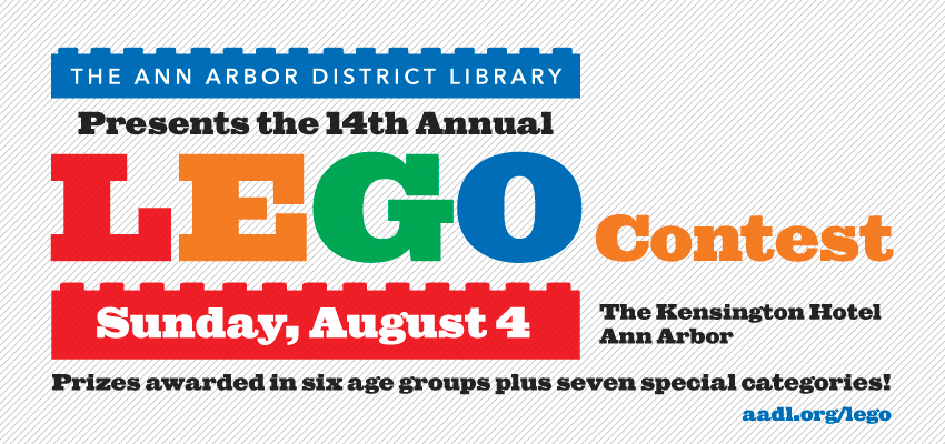 LEGO Contest - Sunday August 4. .