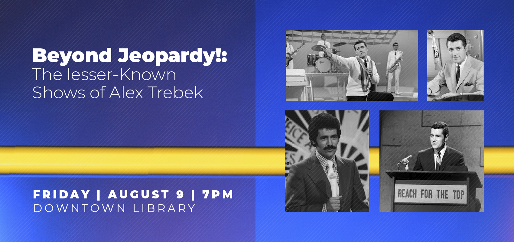 Beyond Jeopardy - Friday August 9. .