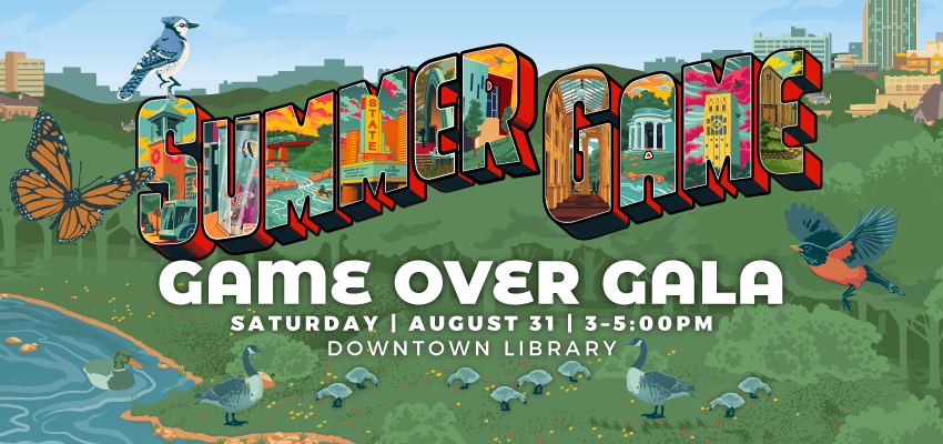 GAME OVER Gala - Saturday August 31. .