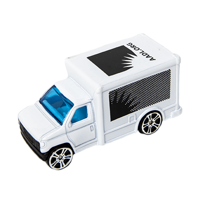 Cover image for AADL Mini Delivery Truck
