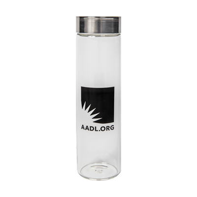Cover image for 2019 AADL Glass Bottle