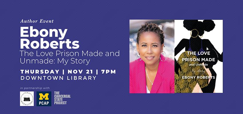 Author Event | Ebony Roberts. .