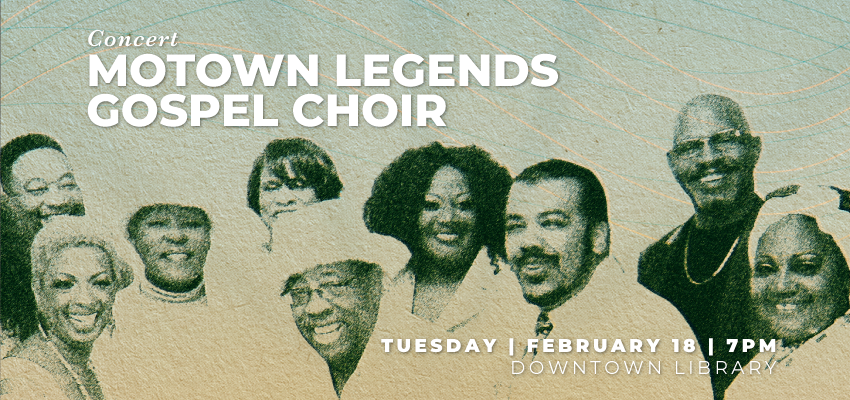 Concert | Motown Legends Gospel Choir. .