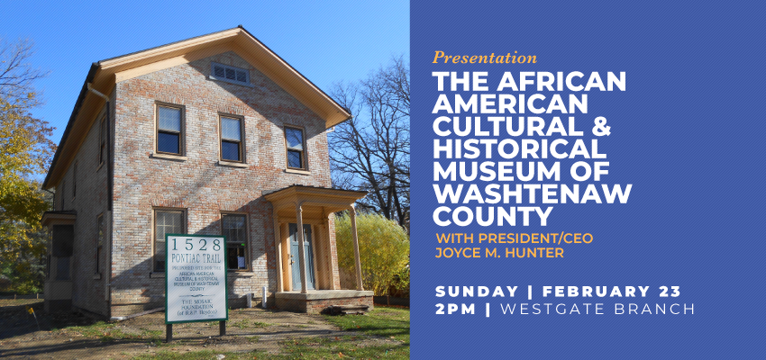 The African American Cultural & Historical Museum of Washtenaw County. .