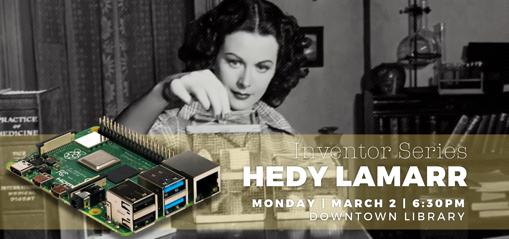 Inventor Series: Hedy Lamarr. .