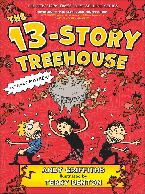 Cover image for The 13-Story Treehouse by Andy Griffiths
