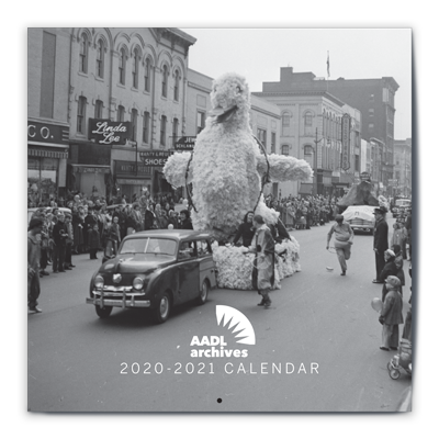 Cover image for AADL Archives Calendar